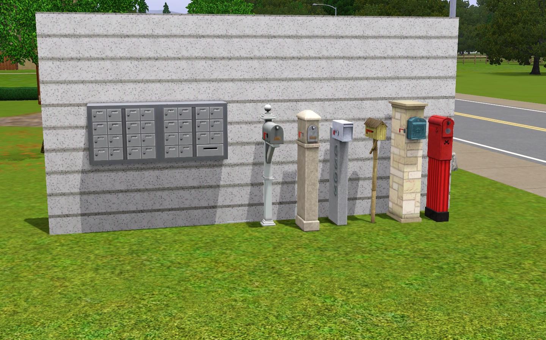 Mailbox The Sims Wiki Fandom Powered By Wikia
