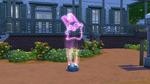 Freezer Bunny laser light show