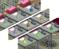 Thesims1 potion colors