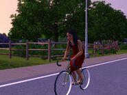 Bella On Her Bike