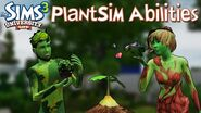 The Sims 3 University Life PlantSim Abilities
