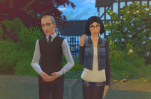 Schweiger Family Portrait The Sims 4
