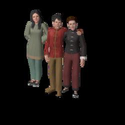 Kim family (Shang Simla)