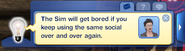 TS3 Boring message
