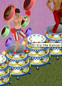 El Viz the Dancer