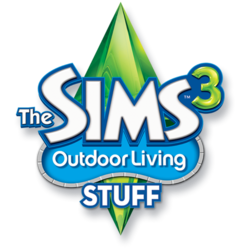 The Sims 3 Outdoor Living Stuff Logo