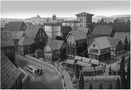 Old Town concept art