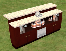 Ts2 the grease stands alone island bar