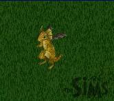 A gold dragon