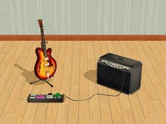 Sims 2 Guitar