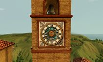 Monte Vista clock tower
