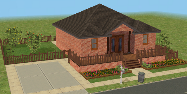 File:Small Home - 2BR 1BA Driveway.png