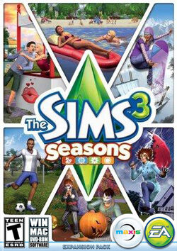 The Sims 3 Seasons Cover