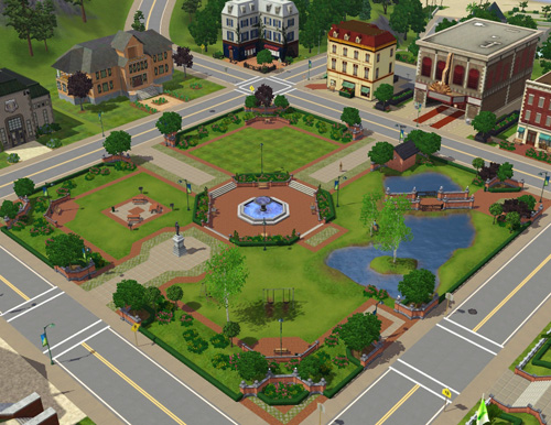 sims 3 create a world how to delete a lot