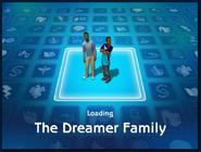 Loading screen of Dreamer family