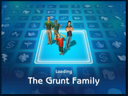 Loading screen of Grunt family