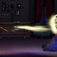 Дуэль ведьмы и волшебника в «<i>The Sims 3: Сверхъестественное</i>»