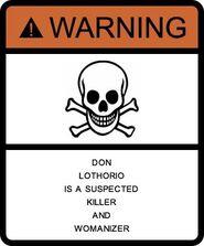 WarningsignDon