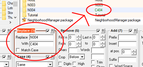 Renaming neighborhood folder img 3