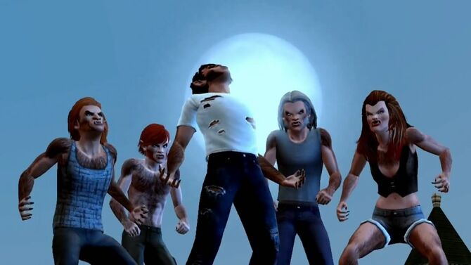 TS3 Supernatural Werewolves