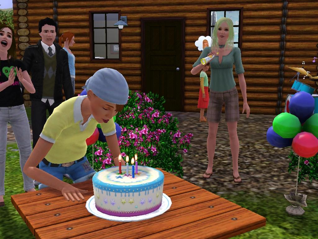 Buy a birthday cake sims 4