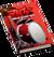 Book Skills Music Drum Red