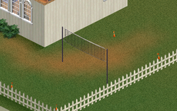 TS1 a volleyball court