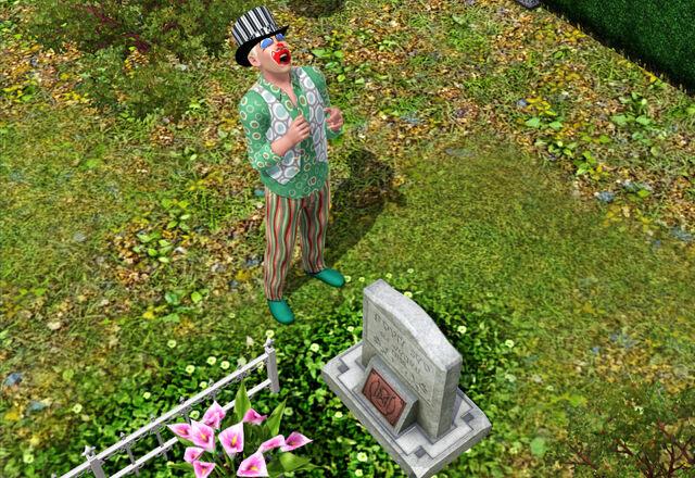 File:Tragic Clown's Original Appearance in TS3 01.jpg