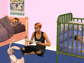 Isabel reads to Marcus and Sofia