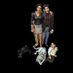 Kim family (The Sims 2)