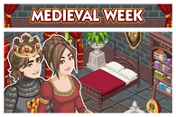 Sims Social - Medieval Week Forum Banner Post