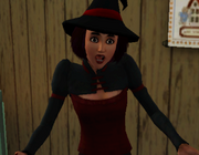 Gasping witch