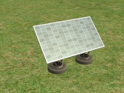 Solar panel 2x1