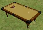 Ts2 side pocket pool table