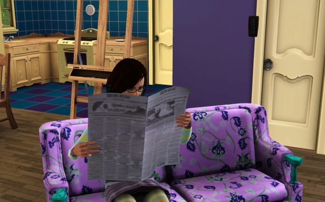 File:Reading the newspaper (TS3).jpg