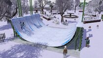Festival winter - half-pipe