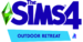 The Sims 4 Outdoor Retreat Logo