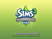 Sims 3 High-End Loft Stuff US Startup Screen