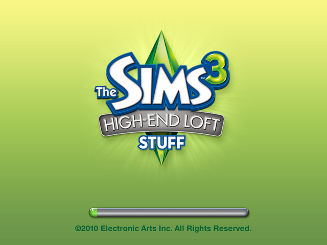 File:Sims 3 High-End Loft Stuff US Startup Screen.png