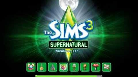 The Sims 3 Supernatural Loading Screen