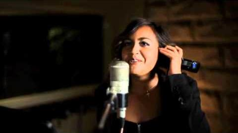 Jessica Mauboy 'Saturday Night' Simlish Recording Session for The Sims 3 on Console