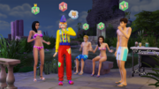 TS4 Get Together repulsion towards butterflies