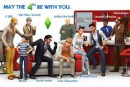 Whoiswho ts4render starwars