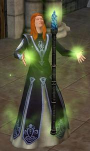 Magical staff