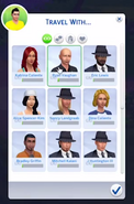 Travel with interface in TS4