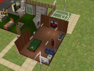 Ts2 custom apartment gg - communal areas