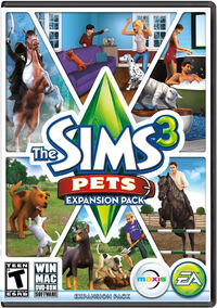 The Sims 3 Pets Cover