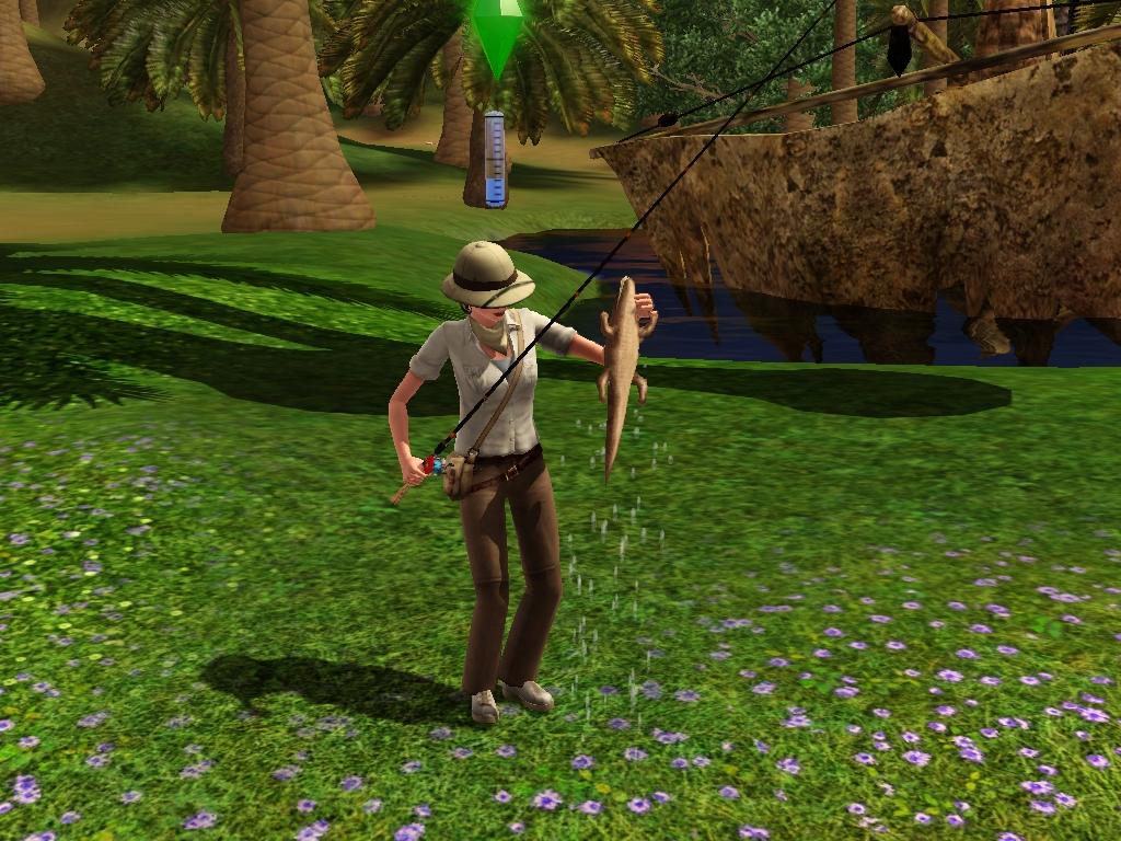 Fishing The Sims Wiki Fandom Powered By Wikia