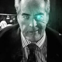 He winks at Nancy.