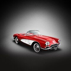 Johnny's car, the 1960 Corvette.